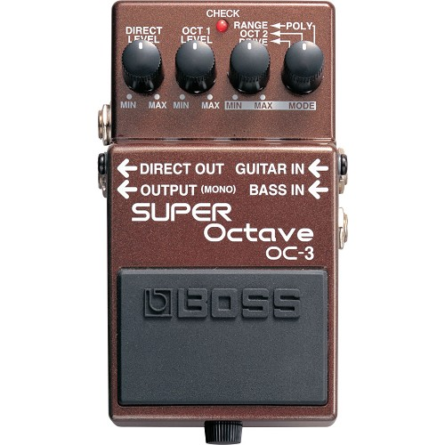 BOSS Guitar Effect Super Octave [OC-3] - Gitar Stompbox Effect